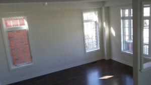 brand new end unit townhouse for rent (green lane/leslie)