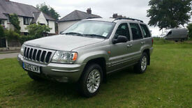 Jeep Grand Cherokee 2.7 CRD auto Limited PX Swap Anything considered