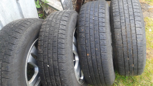 I have 4 tires and rims for sale