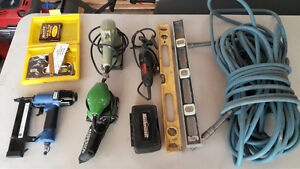 Various Stuff: cables, electrical, outlets, covers, plumbing, et