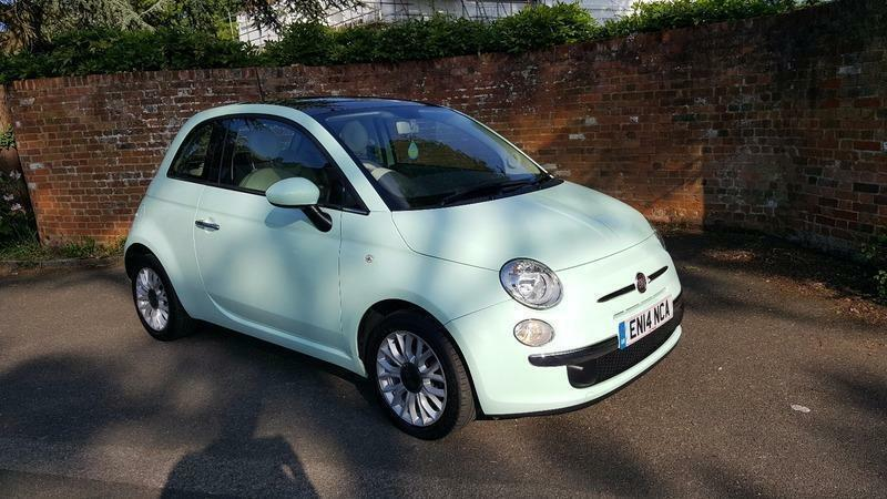 fiat 500 1 2i lounge s s 1 owner serviced may 2017 in lightwater surrey gumtree. Black Bedroom Furniture Sets. Home Design Ideas