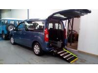 2012 Peugeot Partner Tepee Wheelchair Disabled Accessible Vehicle Car