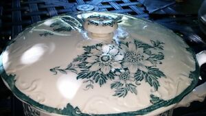 Antique Chamber Pot Huron Colonial Pottery Stokes Eng London Ontario image 2