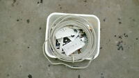 Bin of misc. electrical