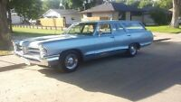 65 pontiac wagon..327 4 barrel  2 speed glide.REDUCED 4500