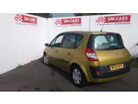 2004 04 RENAULT SCENIC 1.5 DCi 80 EXPRESSION,GREAT COLOUR.SUPERB MPG.FULL S/H .