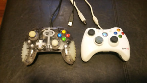 USB Computer Gaming controllers Xbox Style