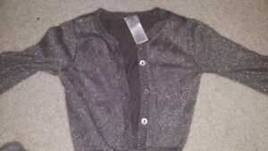12 month baby girl sparkly sweater hardly warn