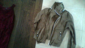 BENCH jacket army green colour, worn once