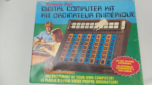 Vintage Science Fair Digital Computer Kit