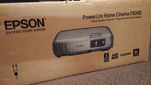 EPSON PowerLite Home Cinema 730HD (Video projector)