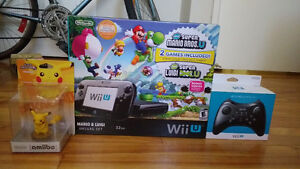 Nintendo Wii U For Sale w/ Games & Pro Controller