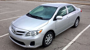 2013 TOYOTA COROLLA --ONLY 21 KMS!--CERTIFED + E-TESTED--NO FEES
