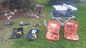Multiple tools for sale