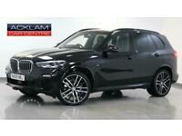 2019 BMW X5 2019 69 BMW X5 3.0 30D M Sport xDrive Diesel black Automatic