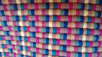 100% Cotton area rug (35in x 62 in)--NEW!