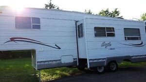 Jayco 5th wheel Camping Trailer REDUCED FOR QUICK SALE!!!