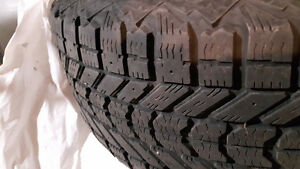 GREAT DEAL ON A Set of 4 Firestone Winterforce tires on rims. London Ontario image 2