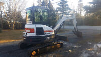 3.5T EXCAVATOR FOR HIRE (902)293-7925