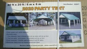 20' x 20' NEW PARTY TENT IN THE BOX NEVER OPENED - $1050