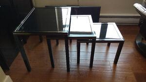 French Vintage Pierre Vandel Nesting Tables