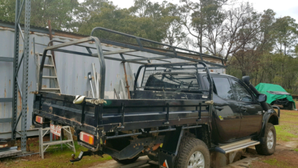 Heavy duty steel tradesman roof rack suit dual/extra cab tray. Gidgegannup Swan Area Preview