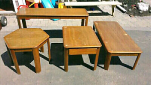 Coffee Table Set (4 Piece)