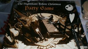 Tim Burton's Nightmare Before Christmas Party GAme