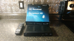 Shaw HDDSR600 Receiver and dish for sale .