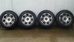 Ford Platinum F350 20 inch tires and rims