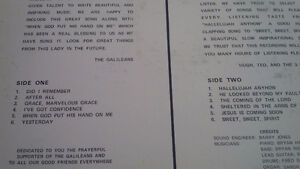 LP: The Galileans, featuring Did I Remember Kitchener / Waterloo Kitchener Area image 2
