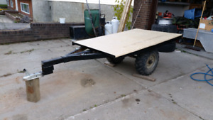 ATV Flat Tilt Deck Trailer
