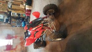 FOR sale 2008 TRX 450r/ 1990 open cart 500cc,great shape