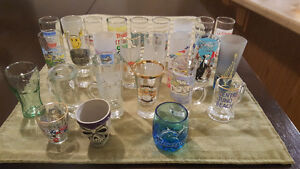 Moving sale - shot glass collection