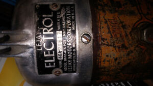 ANTIQUE 1940s LEEJAY ELECTROL 6-12 VOLT TROLLING MOTOR. OFFERS??