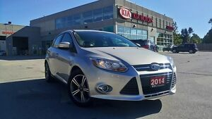 2014 Ford Focus SE Hatch | LOW KM | ONE OWNER | HTD SEATS