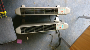 Electric Clarion space heater
