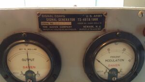 Vintage 1951 US Military Signal Corps Signal Generator TS-497B West Island Greater Montréal image 2