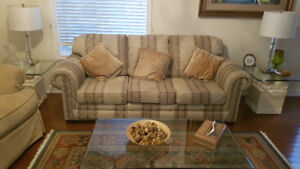 Sofa Set 3 Seater and Love Seat. Upholstered sofa set.
