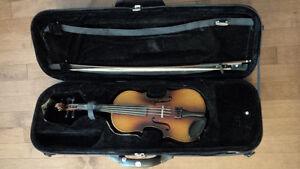German Anton Beder size 3/4 violin for sale