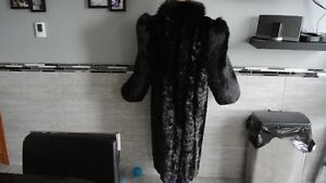 FUR MINK COAT FULL LENGTH Prince George British Columbia image 2