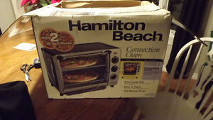 New Hamilton Beach countertop convection oven