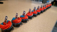 Thomas the Train cupcakes- Dairy Free