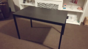 Black table/ desk
