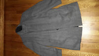 Grey coat from Zara man brand new with tag