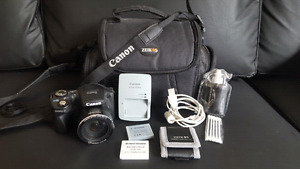Canon PowerShot sx500 IS + accessories, $200