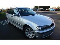 2002 BMW 318 2.0 i SE Touring estate 98019 miles silver shrewsbury