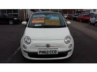 2012 FIAT 500 1.2 Lounge Dualogic Automatic From GBP7,895 + Retail Package