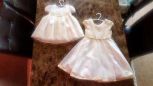 Beautiful special occasion dresses!  Size 12-18m & 4T