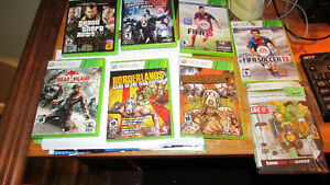REDUCED!    5-Xbox 360 games